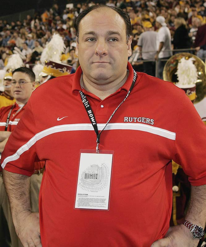 Before the world ever heard of Tony Soprano, James Gandolfini was just an ordinary Rutgers student.