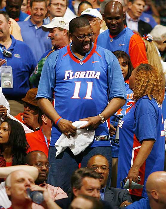 With support from parents such as Sidney Green, Taurean's dad, how could Florida lose?