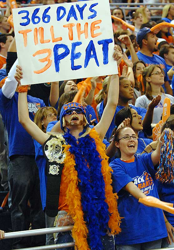 An optimistic Gators fan is already looking ahead to next season.
