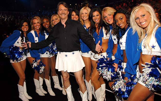 We prefer Jeff Foxworthy as a Redneck instead of a cheerleader.