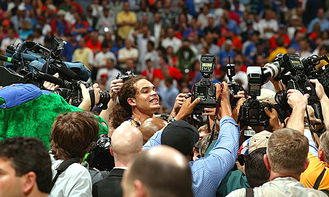 All eyes were on Florida junior Joakim Noah, who may leave Florida for big dollars in the NBA.