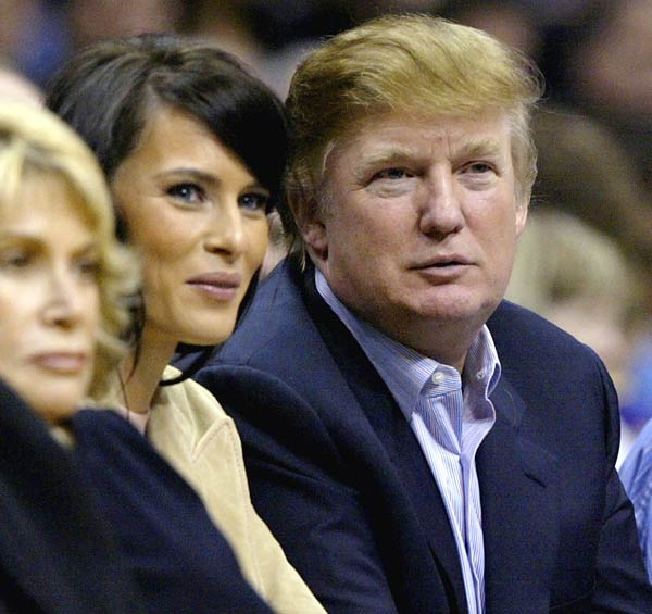 """The Donald"" was essentially booed by Lakers fans at the Staples Center during Game 4 of the Lakers-Suns playoff game."