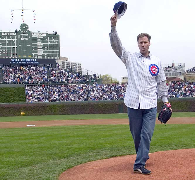 A Californian who started his career as a sportscaster, Will Ferrell mastered his impression of Chicago Cubs broadcaster Harry Caray during his time with Saturday Night Live.