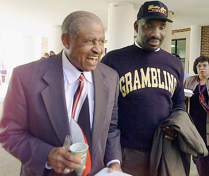 After retiring, Robinson was succeeded by one of his former star players, Doug Williams.