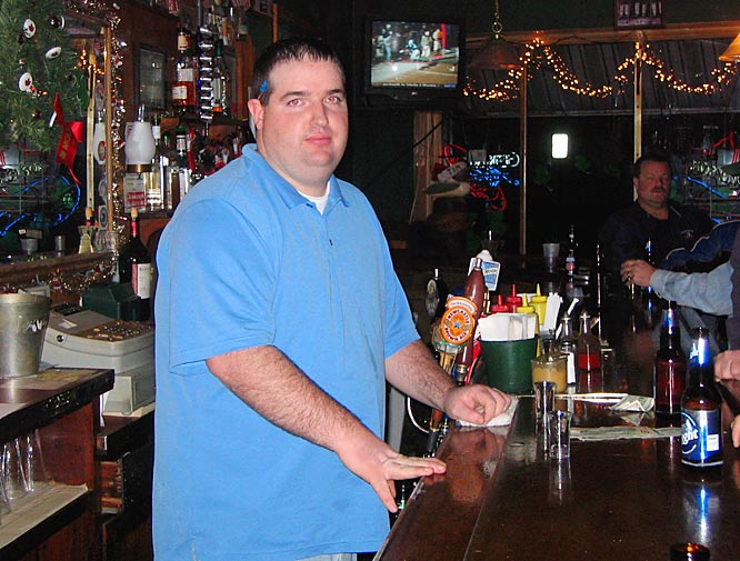 "Bartender Joe Allman of The Swannie House says of his patrons: ""Some are getting up in age, and I can honestly say it would make their life complete to see a Stanley Cup or Super Bowl."""
