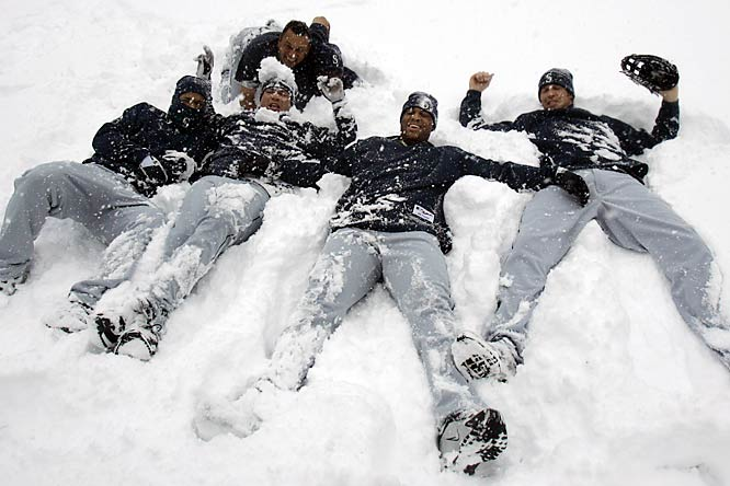 Despite their entire three-game series with the Indians being postponed due to snow, the Mariners made the best of their situation.