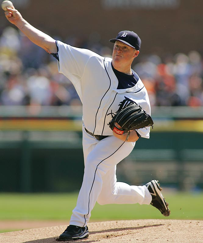 "2007 PECOTA Projections: <br>14-8, 3.50 ERA, 1.24 WHIP, 177 K's <br><br>The righthander has survived the ""injury nexus,"" reaching age 24 without encountering a serious arm problem, while improving his performance each year. The combination of established durability and steady gains in his metrics -- strikeout rate, strikeout-to-walk ratio, home-run rate -- is a powerful one in a young pitcher, which is why Bonderman has the highest breakout rate of any hurler in the game."
