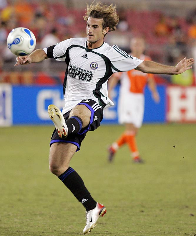 He's known for his fiery temper and clever midfield creativity, not to mention his shoulder-length dreads. But since he joined the league as a promising teenager in '00, inconsistency has dogged Beckerman. Last season he put it all together, starting in 31 games and scoring seven goals. Colorado has a new stadium opening this season in Dick's Sporting Goods Park, and the 25-year-old Beckerman could become the new soccer temple's first apostle.