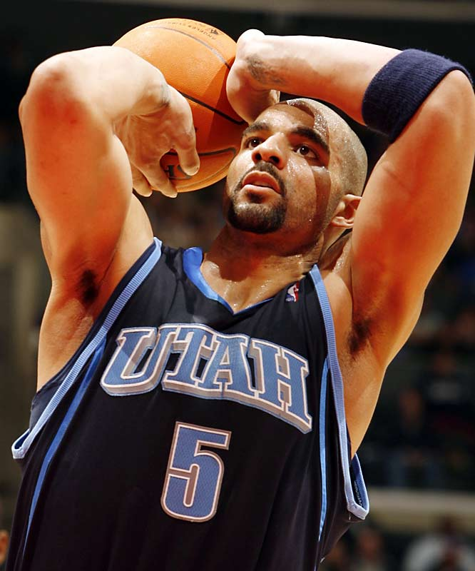 Utah Jazz: Carlos BoozerNo one is expecting Boozer to beat the likes of Dirk Nowitzki or Tim Duncan. But for $11 million this season, he has to at least keep pace with them. That is, of course, assuming he can take advantage of Houston's relative weakness at power forward in Round 1.