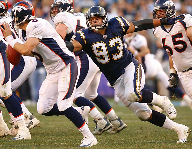 Pre-Draft: Admitted to steroid use before the NFL draft. <br><br>Post-Draft: Named as a second alternate to the 2007 Pro Bowl after recording seven sacks.
