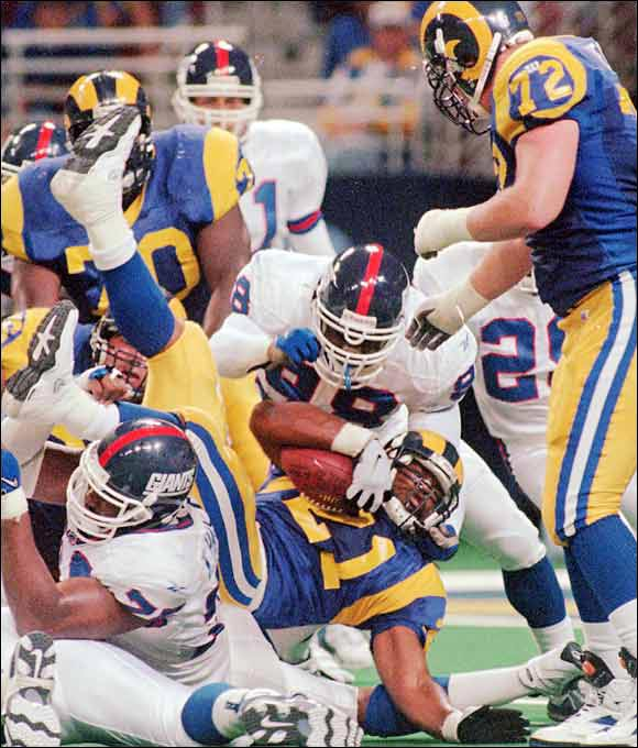 A speedster out of Nebraska, Phillips might have gone even higher if he hadn't had discipline issues during college. Rams coach Dick Vermeil thought he could help the troubled back, but St. Louis released Phillips a year after drafting him. He never found a permanent NFL home.