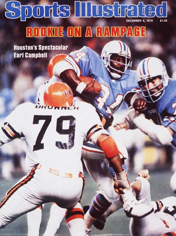 Campbell ran for 1,450 yards in 1978 and won Rookie of the Year and MVP honors. He helped the Oilers make a run to the AFC Championship Game, where they fell to the eventual Super Bowl champion Steelers. Campbell also helped Houston beat Miami 35-30 in what many consider the most exciting Monday Night Football game of all time.