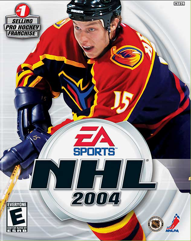 After EA's original choice, Joe Thornton, was charged with assaulting police, the up-and-coming Heatley was selected for the cover of NHL 2004.  Four days after the official release date, he crashed his Ferrari into a wall at around 80 mph, ejecting him and his passenger, friend and teammate Dan Snyder.  Heatley suffered a broken jaw, a minor concussion, a bruised lung and kidney, and tore three ligaments in his right knee.  Snyder was critically injured with a skull fracture, fell into a coma, and died six days later. EA switched the cover to Joe Sakic following the accident, although many copies had already been shipped and sold.