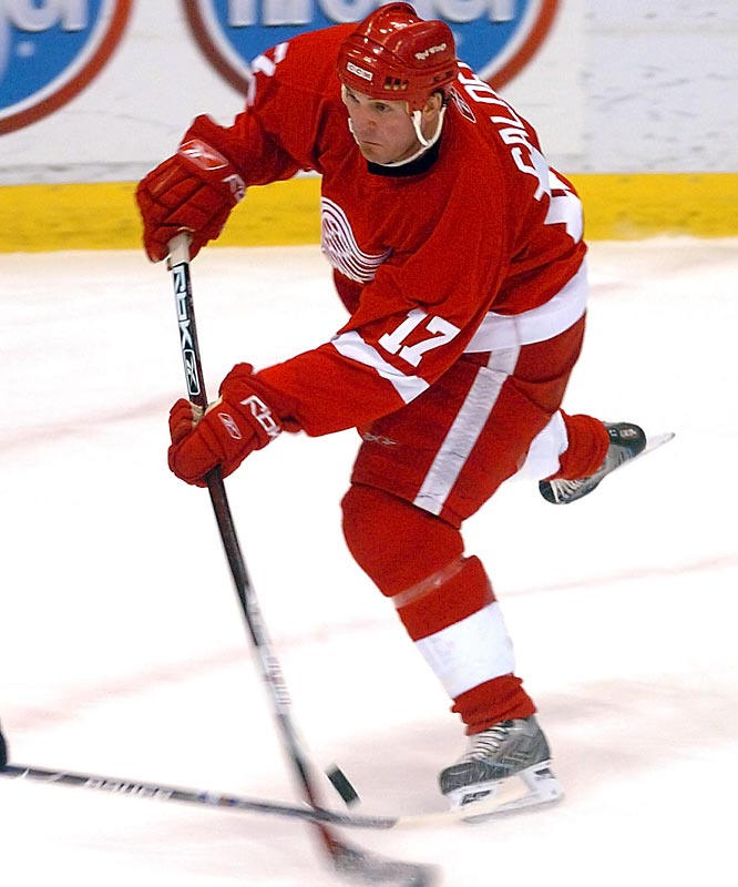 The rejuvenated 28-year-old (five goals, 14 points in 19 games with Detroit since his Feb. 26 trade), will play a key role on the second line as Henrik Zetterberg (back woes) may need time to shake off rust and Todd Bertuzzi (concussion) may miss a couple of games.