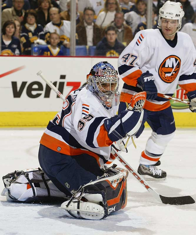 Rick DiPietro returned between the pipes Saturday for the Islanders after missing the previous three weeks with post-concussion syndrome.  DP made 32 saves in the win.