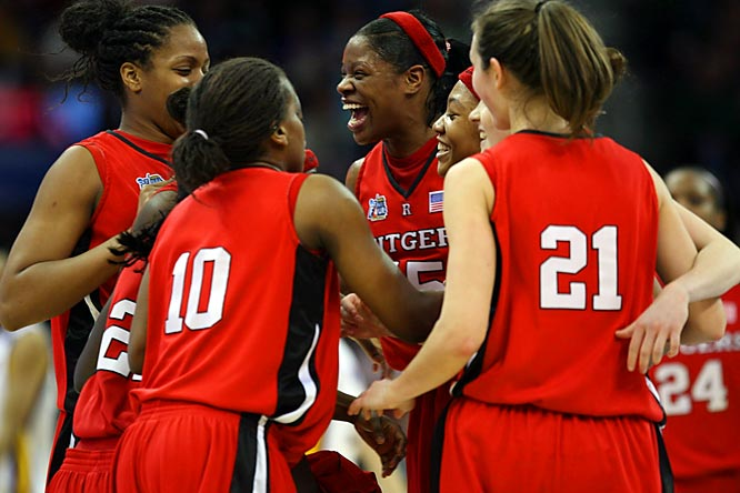 With Rutgers in the spotlight on the heels of its first ever national championship game appearance, here's a look at the Scarlet Knights and some other outstanding women's teams and athletes.