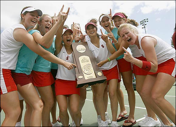 Reigning champion Stanford has appeared in the title match 20 times in the 25-year history of the championship. The team posted a 4-1 victory over Miami to claim its third straight and 15th overall team title last year.
