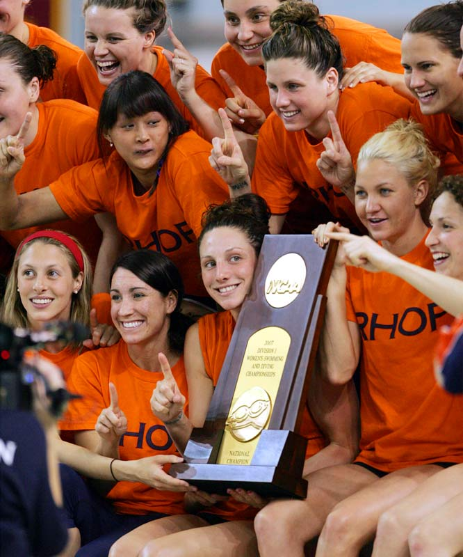 Reigning champion Auburn used a huge rally on the final night to defend its team title and win its fifth championship in the last six years.