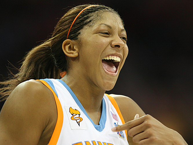 Candace Parker told fans afterward she expected to return to Tennessee for her senior season.