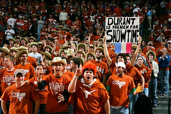 It's safe to say that Kevin Durant was a fan favorite in Austin this past year.