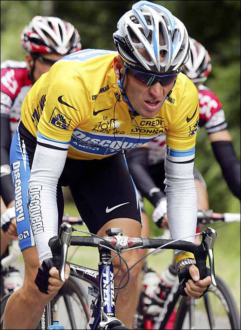 In 1996, just as he was entering the prime of his career, Lance Armstrong was diagnosed with testicular cancer that had spread to his lungs and brain. He was given a 50 percent chance of survival. After a grueling rehab, Armstrong returned to cycling and began an unprecedented period of dominance with his 1999 Tour De France victory. He has served as an inspiration for millions.