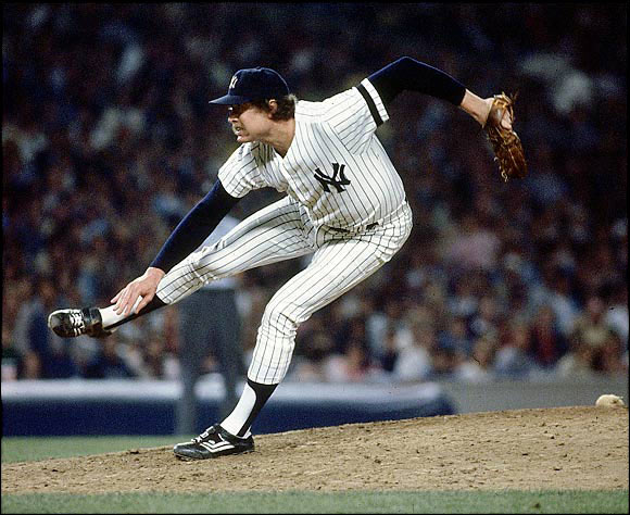 Burning with an intensity that approached his 96-mph fastball, Gossage was one of the most durable and consistent power closers. Gossage racked up 310 saves and 1,502 strikeouts in 22 seasons. His glory years were with the Yankees from 1978 to '82, and he is best remembered for closing out their epic 1978 playoff game against Boston to win the AL East and, later, the World Series.