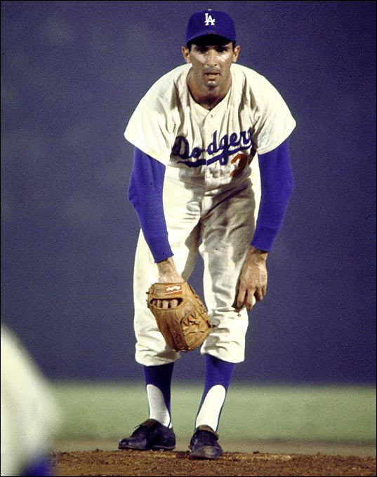 "Koufax was known more for his devastating curveball, but his fastball was ""so fast and so noisy, it scared you,"" said Hall of Famer Orlando Cepeda."