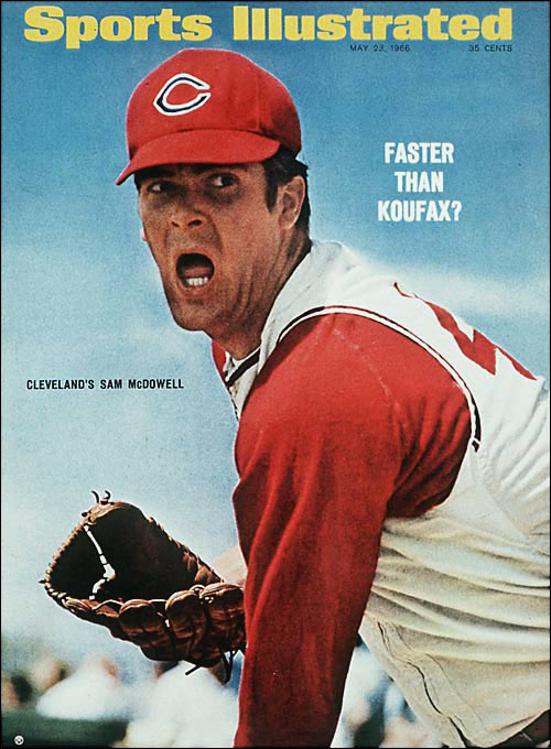"The 6-foot-5 left-hander with a withering fastball and wicked changeup won five strikeout titles from 1965 to 1970 and twice topped 300 K's, a feat matched only by Sandy Koufax, Nolan Ryan, J.R. Richard, Walter Johnson, Curt Schilling, Randy Johnson and Pedro Martinez. Hitters had an added reason to fear Sudden Sam. ""I was the biggest, most hopeless and most violent drunk in baseball,"" McDowell admitted. He struck out 2,453 during his 15-year career, and his 74 games of 10 or more K's rank fourth behind Ryan, Koufax and Steve Carlton."
