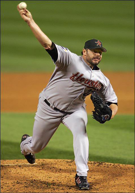 Clemens took the mound for Game 1 of the World Series on Oct. 22, 2005, the Astros' first appearance in the Fall Classic. Houston went on to lose to the White Sox in four games.