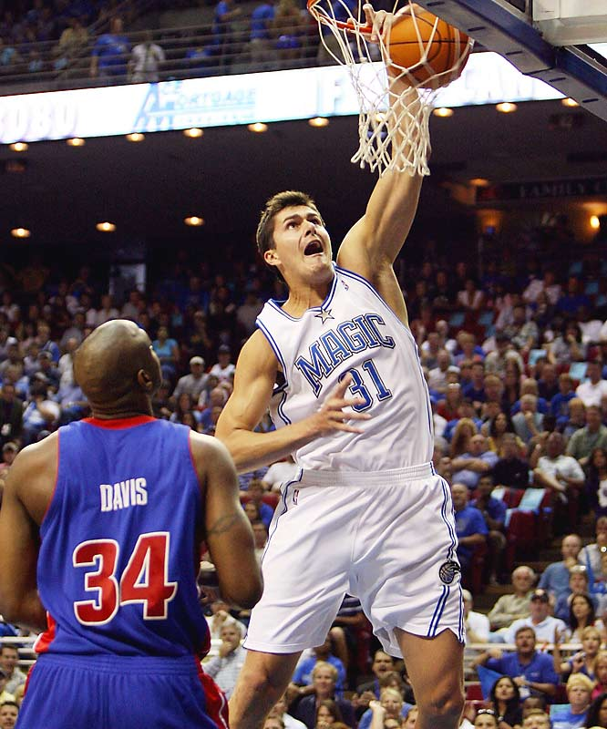"Milicic will be a restricted free agent, meaning the Magic have the right to match any offer for him. Though the 7-footer was inconsistent, at best, in his fourth season, he remains an intriguing prospect who will turn 22 during the offseason. GM Otis Smith has said Orlando ""can't afford"" to lose Milicic as a complement to center Dwight Howard, but the price tag could be high for a still-unproven player."