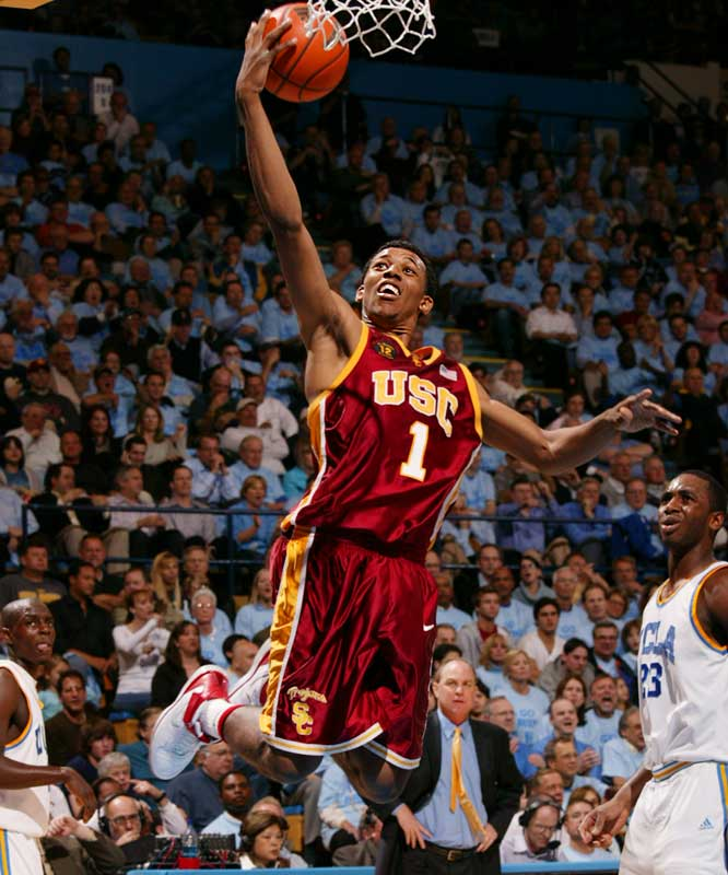 The sixth-leading scorer in Trojans history averaged 17.5 points and 4.6 rebounds last season.