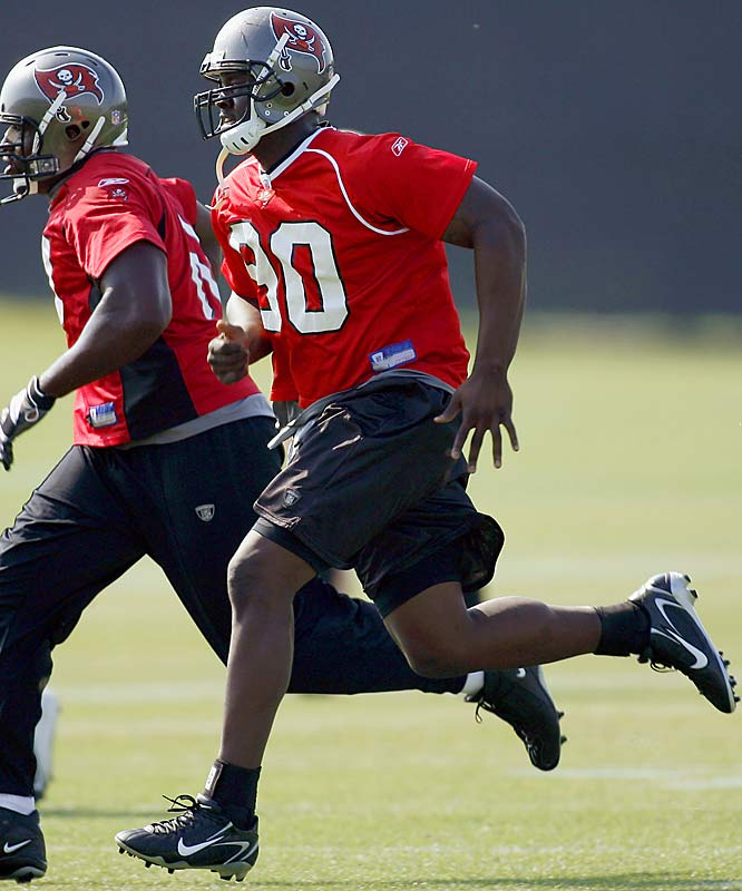 """He'll be a guy that, if anybody falls out of line, he'll be responsible. He did show good effort, good finishing effort. I think the better shape he gets in, the more you'll see him flash."" -- Buccaneers coach Jon Gruden"
