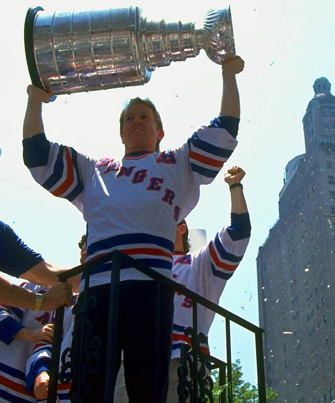 Leetch and the Blueshirts celebrated their emotional triumph with a victory parade up Broadway in New York City.