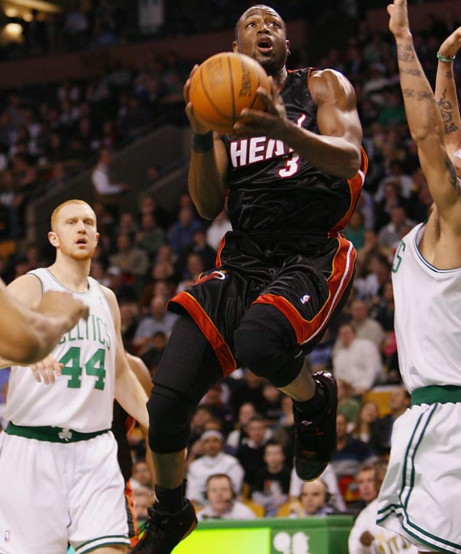 Pronunciation: Dwayne.<br><br>Used in a sentence: Dwyane was Sports Illustrated's Sportsman of the Year in 2006.
