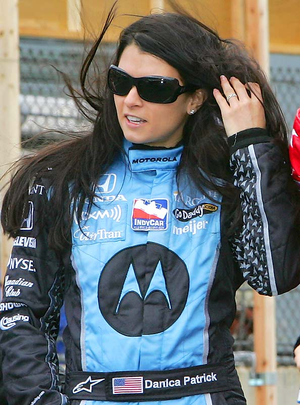 There was speculation last year that Patrick would consider a jump to NASCAR, but she ended up staying with the IRL.