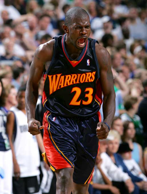 Jason Richardson, playing in the first playoff series of his six-year career, averaged 19.5 points and 6.8 rebounds in the six games. He made 15 of the Warriors' 62 three-pointers.