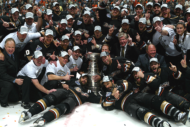The Ducks became the first California team to win the Stanley Cup.