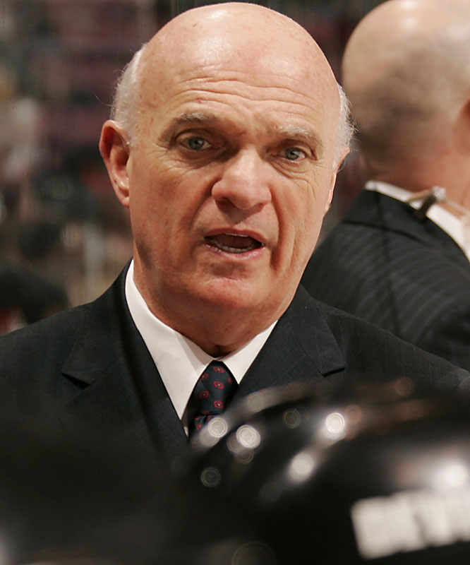 The architect of the Devils' three Stanley Cups and the champion of the defensive trap that choked scoring before the 2004-05 lockout, Lamoriello is a master drafter and trader. He's also fearless enough to step behind the bench as coach, doing so twice in the past three seasons.
