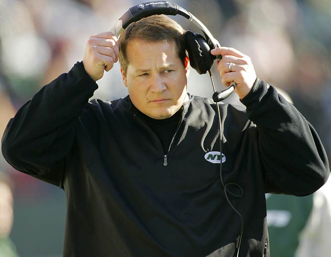 """When James Gandolfini referred to the 36-year-old Jets coach as """"Mangenius"""" in The Sopranos' penultimate episode, he was sharing a sentiment that was felt by many around the NFL after Mangini, a Belichick protégé, led the Jets to the playoffs in his first season."""