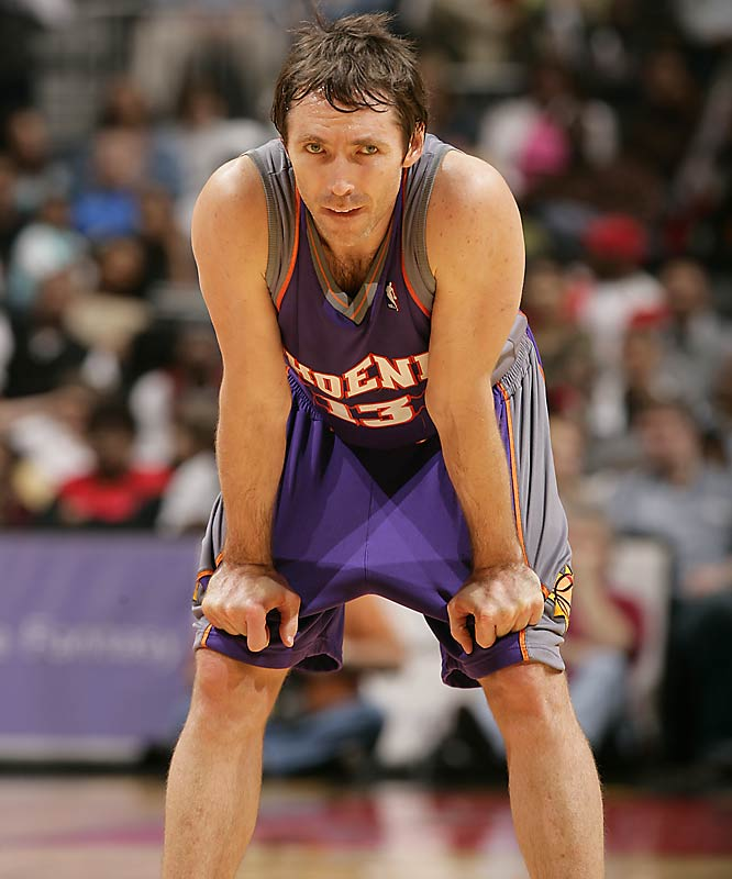 The two-time NBA MVP plays one of the smartest games with his ability to dish, operate the pick and roll, and shoot consistently from the perimeter.