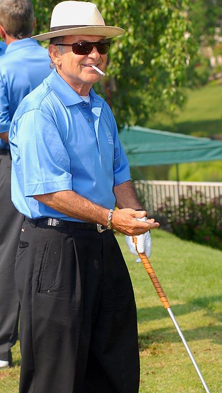 We're gonna guess that Joe Pesci's favorite golfer is John Daly.