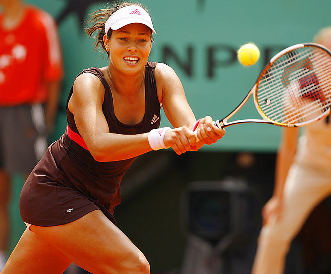 Ana Ivanovic, 19, will make her first Grand Slam semifinal appearance against No. 2 Maria Sharapova.
