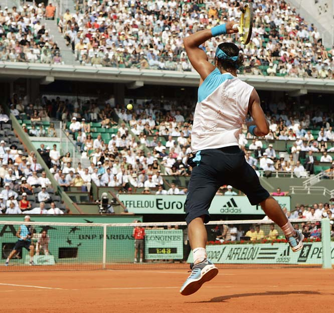 """He's the best player in the world on this surface,"" No. 6 Novak Djokovic said of Nadal, whom he will face in the semis. Nadal is 19-0 in his career at the French Open and has not dropped a set in the tournament this year."