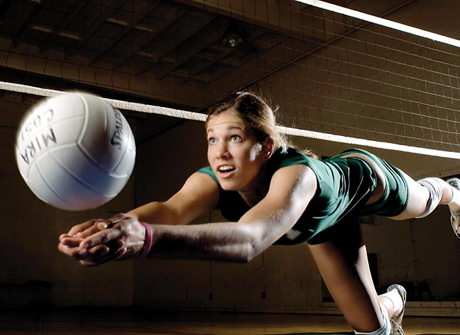 The Stanford-bound outside hitter was named the Gatorade National Player of the Year after leading Mira Costa to a 37-1 record and the nation's No. 1 ranking. She tallied 513 kills and set school records for service aces (52) and hitting percentage (.494) as a senior while leading the Mustangs to their third consecutive state title.