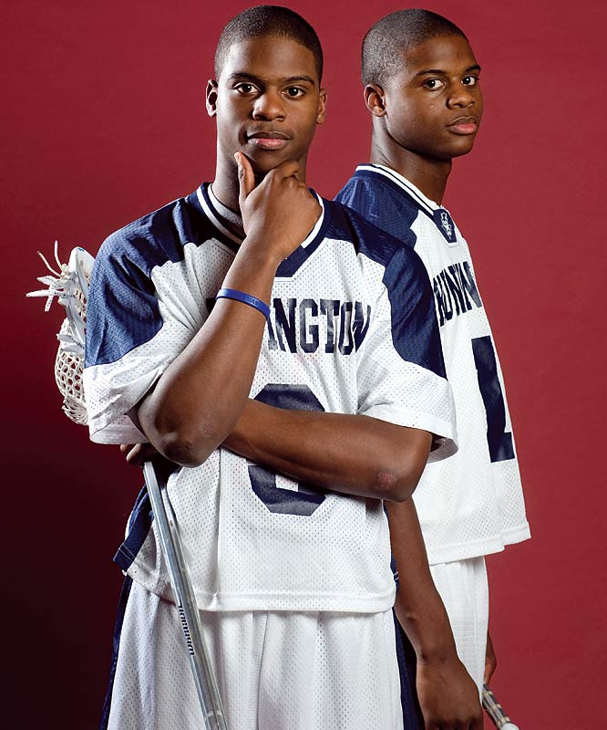 Virginia-bound midfielders Shamel and Rhamel Bratton are twin brothers and the best two lacrosse players in the Class of 2007. Shamel finished with 57 goals and 19 assists, while Rhamel had 59 goals and 36 assists as Huntington went 20-1 and advanced to the state semifinals.