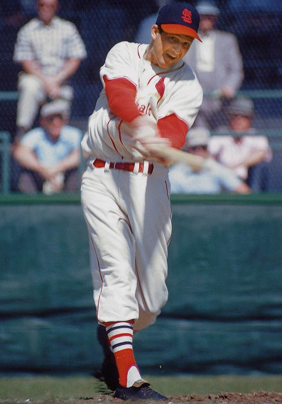 Stan Musial became the eighth member of the 3,000-hit club on May 13, 1958, with a double off Chicago's Moe Drabowsky at Wrigley Field. Stan The Man owns the highest career slugging percentage (.559) among H3K members and is the only player to reach the milestone as a pinch-hitter.