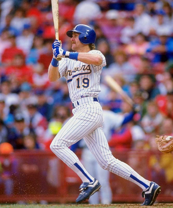 Robin Yount became the 17th member of the 3,000-hit club on Sept. 9, 1992, with a single off Cleveland's Jose Mesa at County Stadium. Only Ty Cobb and Hank Aaron reached the milestone at a younger age. Rockin' Robin collected more hits in the 1980s (1,731) than any other player.