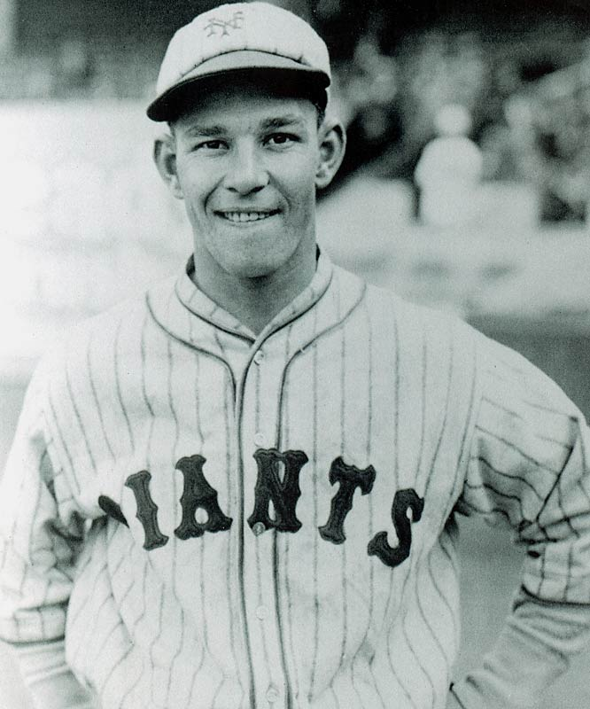 Mel Ott hit 30 or more home runs eight times and led the NL in home runs six times. Master Melvin became the third member of the 500 club on Aug. 1, 1945, in New York with a solo homer off Boston's Johnny Hutchings.