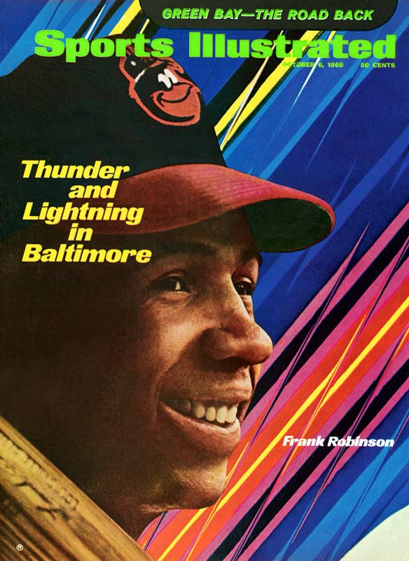 Robinson was the first player to hit 200 home runs in both leagues and is the only man to win MVP awards in both leagues. He became the 11th member of the club on Sept. 13, 1971, in Baltimore with a two-run homer off Detroit's Fred Scherman.