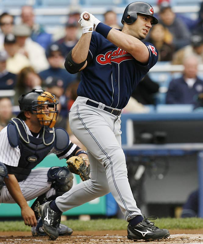 In 2004, 2005 and 2006, Hafner ranked in the top-two in the AL in OPS. The slugger also finished in the top ten in AL MVP voting in 2005 and 2006.